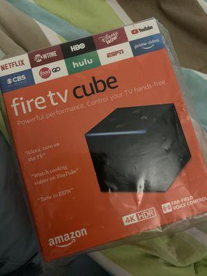Amazon fire tv cube for Sale in Pembroke Pines, FL
