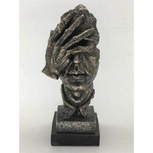 Shame on Me Cold Cast Bronze Sculpture for Sale in Sterling, VA