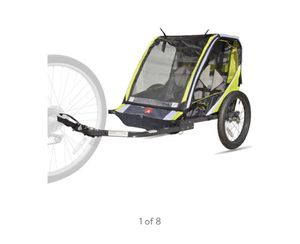 Bike trailer 2 seater new in box for Sale in Shelby Charter Township, MI