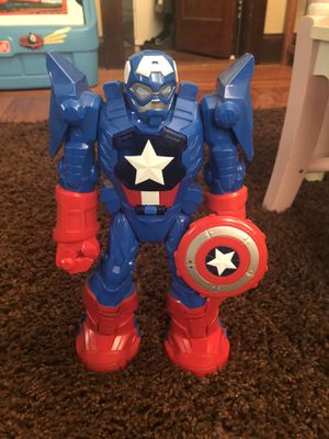 Marvel Playschool Hero's - Captain America for Sale in Central Falls, RI