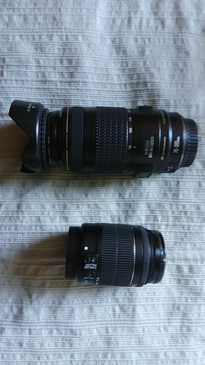 Two Canon lenses for Sale in Bellevue, WA