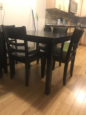 Black kitchen table for Sale in Seattle, WA