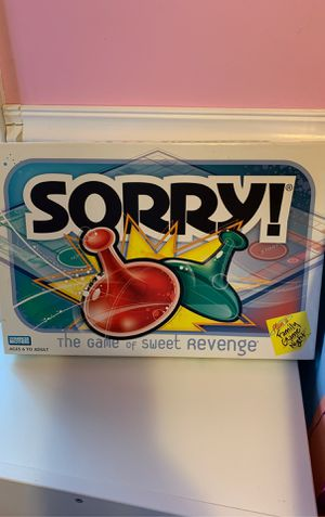 Sorry Game Board for Sale in Chicago, IL
