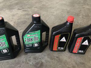 Fork oil for bike Honda (opened) for Sale in Wheat Ridge, CO
