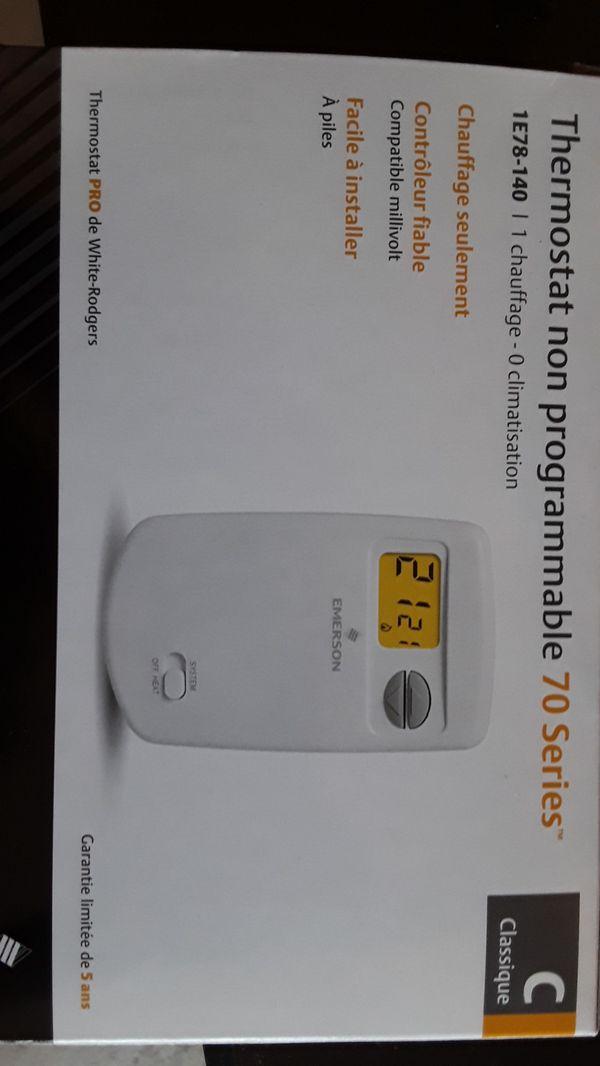 1E78-140 Non-Programmable Thermostat