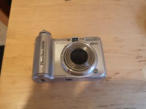 Canon powershot A630 8 megapixels for Sale in Seattle, WA