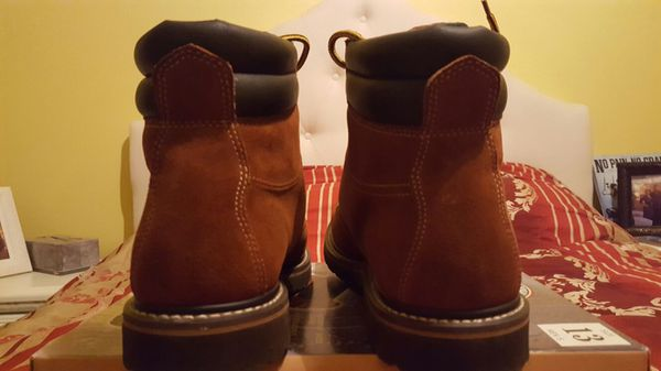 baac1ae4893 Brahma Workload Bravo lll Brown Suede Soft Toe Work Boots Size 12 for Sale  in San Antonio, TX - OfferUp