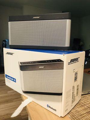 Bose Soundlink III Bluetooth Speakers for Sale in Mount Laurel Township, NJ