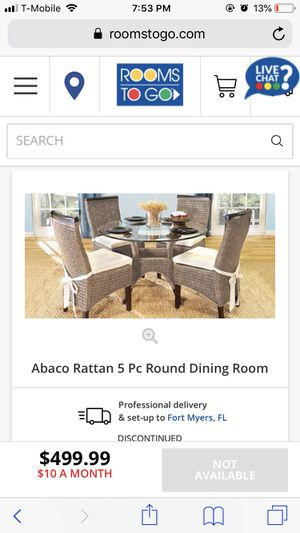 Wicker set with TWO CHAIRS for Sale in Naples, FL