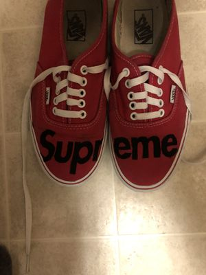 Supreme vans custom era size 8.5 for Sale in Erie, CO