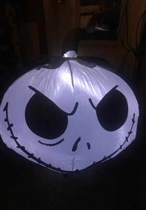 Halloween 🎃 Nightmare before Christmas Inflatable air blown 🎃 ( preferably pick ) for Sale in Palmdale, CA
