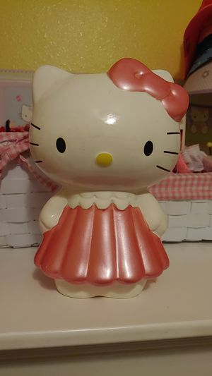 Hello kitty piggybank for Sale in Tampa, FL