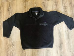 Patagonia Synchilla Snap-T Fleece Pullover Jacket, Black for Sale in Irving, TX