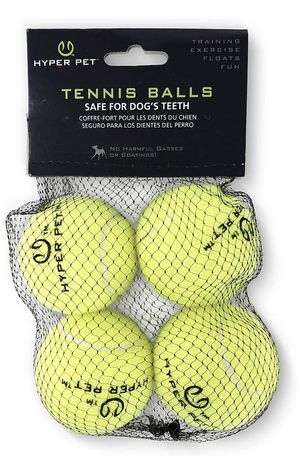Hyper Pet tennis balls for dogs (pack of four) for Sale in Township of Jackson, PA