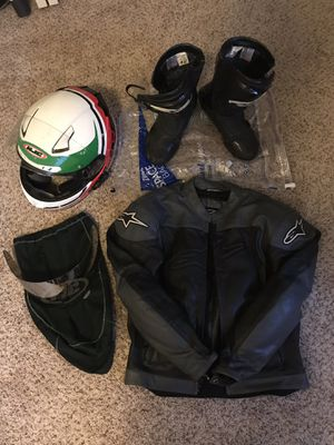Motorcycle gear. for Sale in Portland, OR