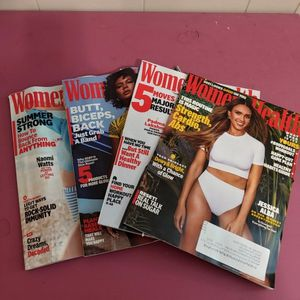 Set Of 4 Women's Health Magazines (2020-2021) for Sale in Stone Mountain, GA