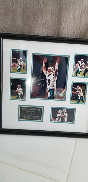 Dan marino 400 career touchdown passes signed for Sale in Princeton, FL
