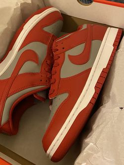 Nike Dunk Low Medium Grey Varsity Red Ds Sz10.5 for Sale in Snohomish,  WA