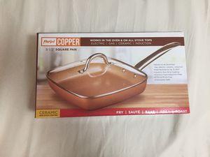 Parini, Copper Square Pan for Sale in Bellevue, WA