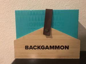 Backgammon board game for Sale in Elk Grove, CA
