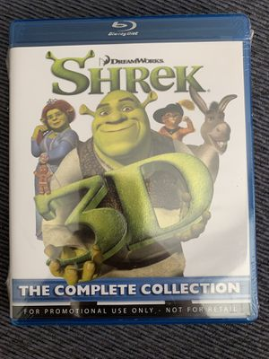 SHREK blu ray movie the complete collection for Sale in Phillips Ranch, CA