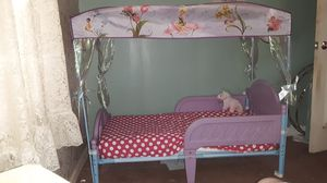 Tinkerbell canopy toddler bed for Sale in Glyndon, MD