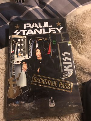 Paul Stanley backstage pass book for Sale in San Antonio, TX