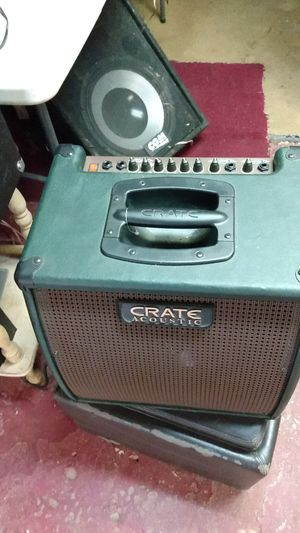 Crate acoustic amp for Sale in Tuscaloosa, AL