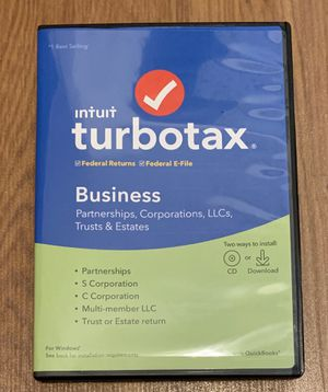 Turbo Tax Business 2019 for Sale in Honolulu, HI