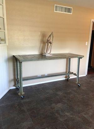 Vintage authentic industrial Draft table bar indoor / outdoor for Sale in Phoenix, AZ