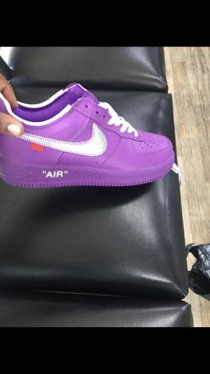 purple off white Size 10 for Sale in Atlanta, GA