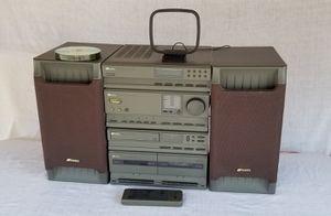 Sansui TA-1000 CDD-1000 2 way Speaker System CD Radio Cassette Remote for Sale in Montclair, CA