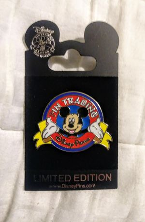 Limited Edition Disney Park Mickey Mouse Enamel Lapel Trading Pin. Kids for Sale in Ladson, SC