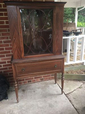 Antique china cabinet for Sale in Durham, NC