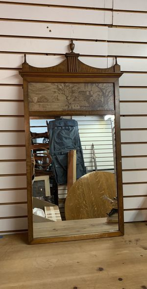 Antique Wood Frame Mirror, Heavy Duty & High Quality for Sale in Los Angeles, CA