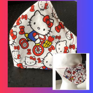 Hello Kitty Cloth Face Mask For Kids $7, Adult $8 for Sale in Grand Prairie, TX