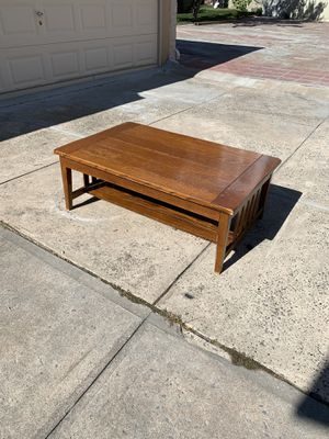 Rectangular Wood Coffee Table for Sale in Queens, NY