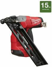 Milwaukee M18 FUEL 18-Volt Lithium-Ion Brushless Cordless 15-Gauge Angled Finish Nailer (Tool Only) for Sale in Stickney, IL
