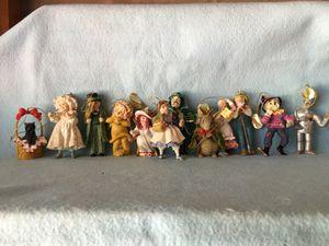 Wizard of Oz resin figures-Ashton Drake collectibles for Sale in Sarasota, FL