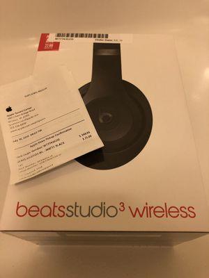 Beats Studio3 Wireless Headphones Matte Black (New/sealed/unopened) for Sale in Falls Church, VA