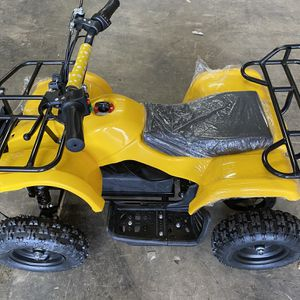 Mini 4 Wheeler ATV Electric Powered Kids Bike 500w Max Speed 16mph Off Road for Sale in Naperville, IL