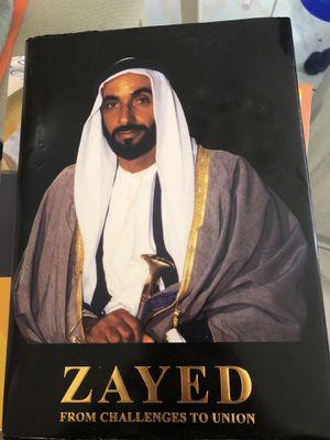 ZAYED the book Saudi Arabia for Sale in Miami, FL