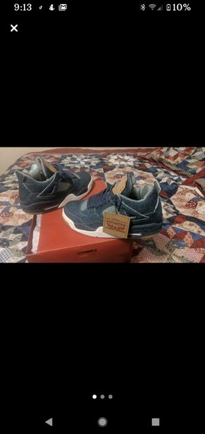 Jordan 4s Levi collab size 8.5 for Sale in Winchendon, MA