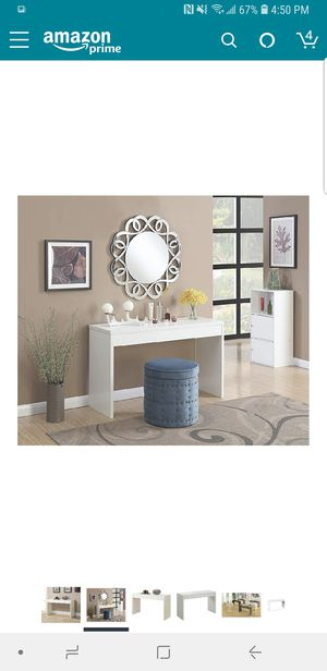 Hall console table, make up table for Sale in Jersey City, NJ