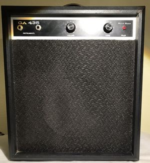 Vintage Sears GA 435 solid state bass 1967 Black for Sale in Scottsdale, AZ