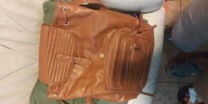 Brown Leather Backpack Purse for Sale in San Diego, CA