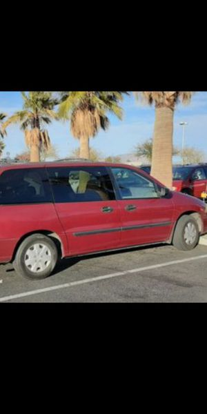 2002 ford windstar lx fully loaded 110k on the dash runs good for Sale in Riverside, CA