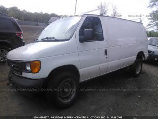 2005 FORD ECONOLINE 5.4L A40966 Parts only. U pull it yard cash only.