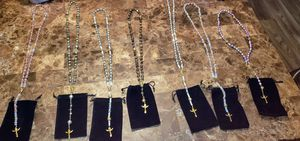Funeral Flower and or Cremation Ash Rosaries for Sale in Maple Valley, WA