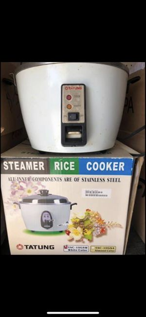 Tatung stainless steel rice cooker for Sale in Anaheim, CA